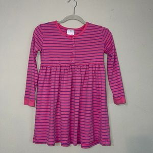 Hanna Andersson Long Sleeve Striped Dress
